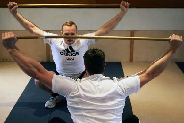 Personal Training im Leistungssport - hier: Judo