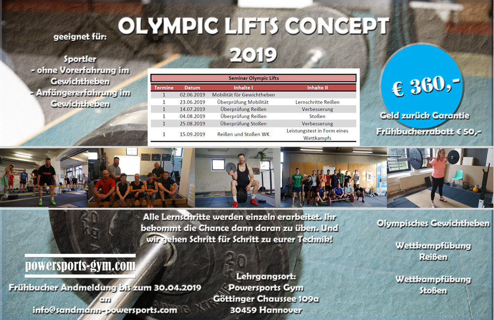 Olympic-Lifts Workshop Flyer